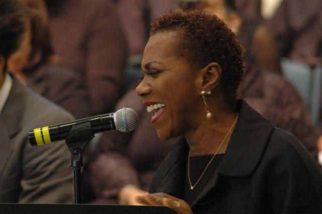 Carmen Lundy at Mt. Zion Color