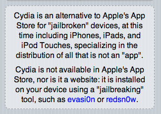 Cydia.Jailbreaking