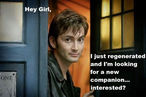 Hey Girl The Doctor aka David Tennant