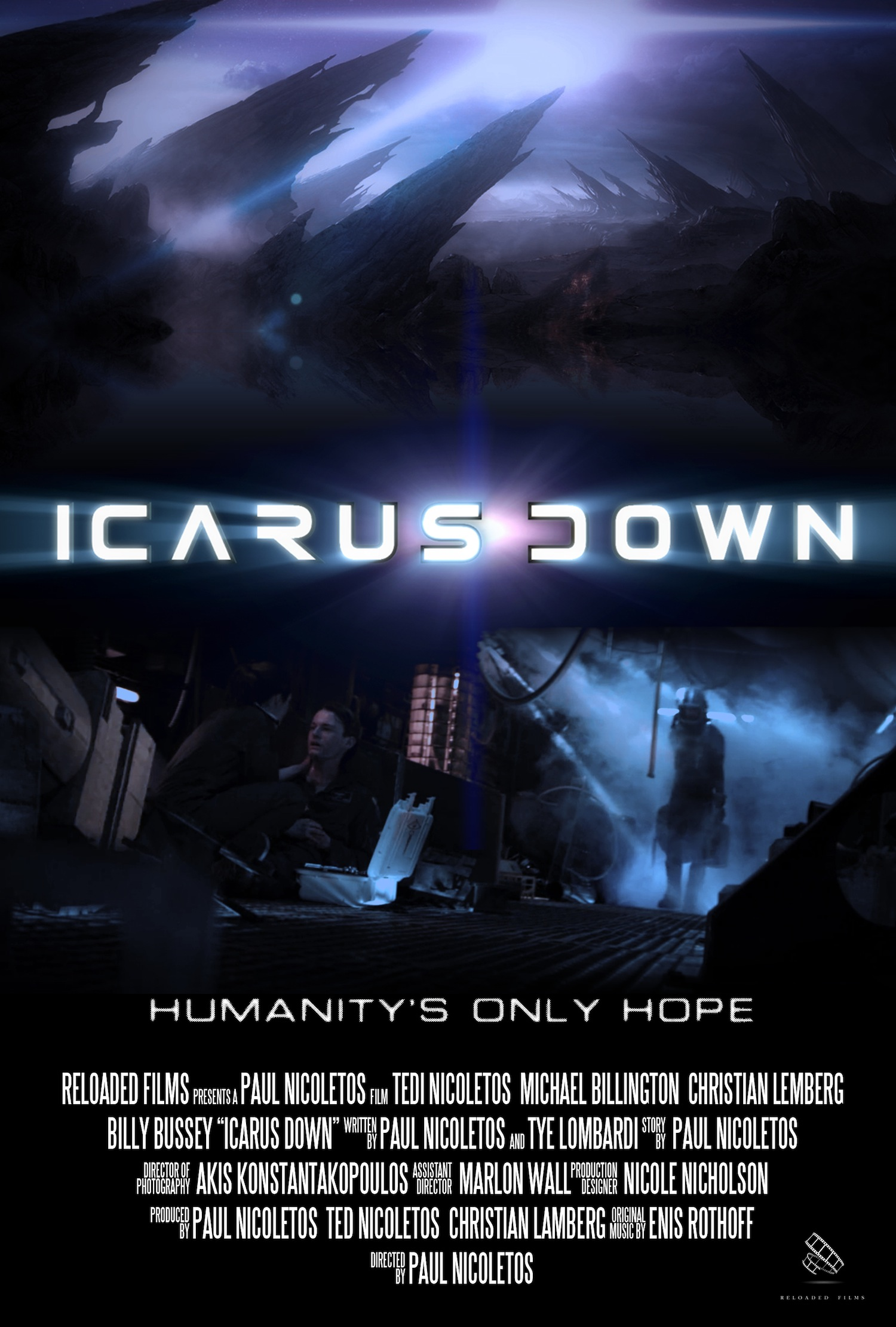 Icarus Down Final Poster
