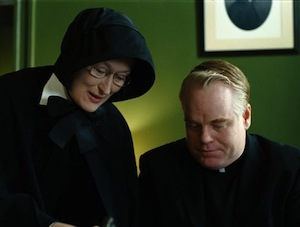Phillip Seymour Hoffman and Meryl Street Doubt