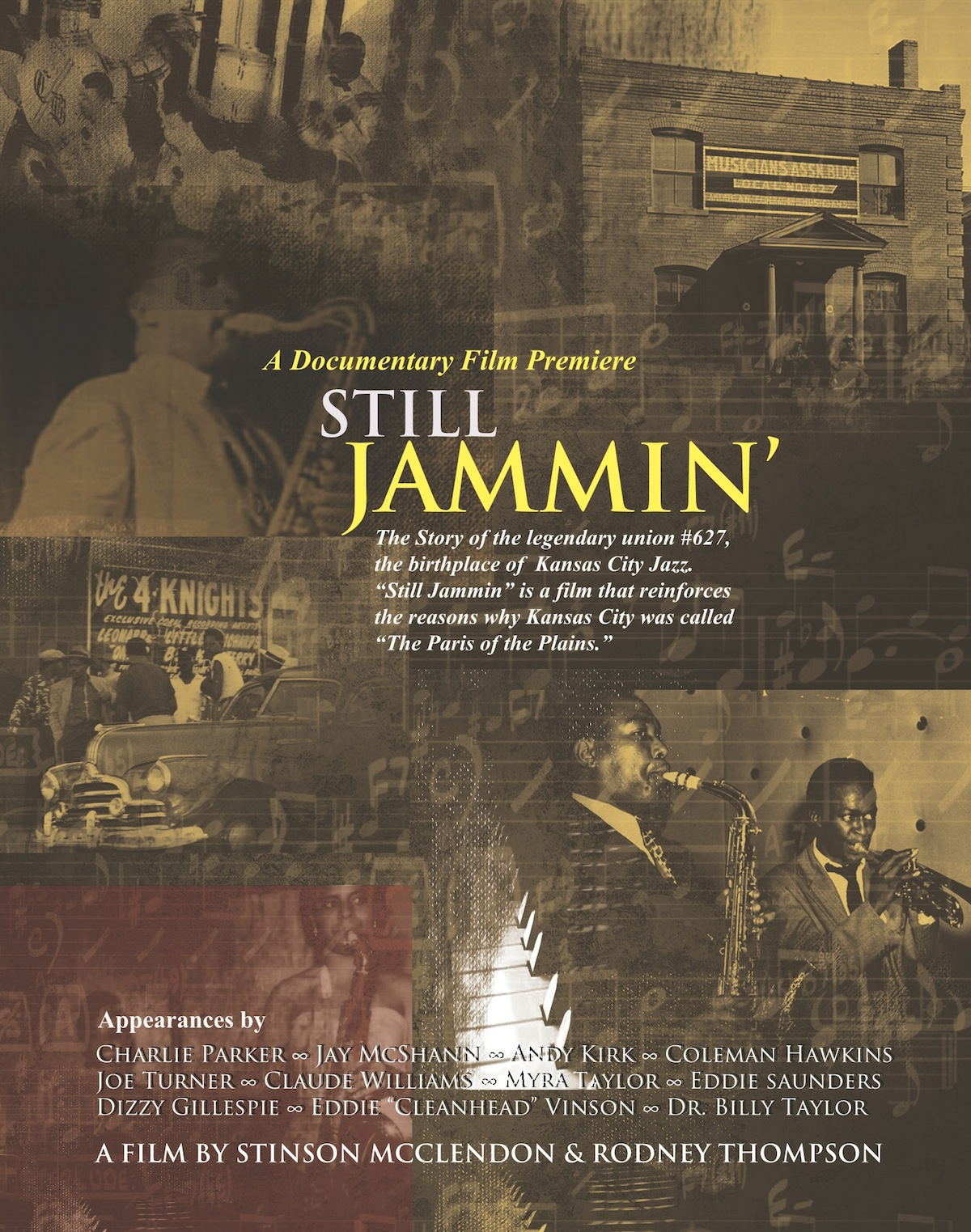 STILL JAMMIN POSTER PS