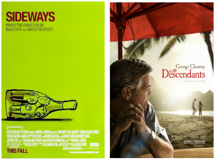 Sideways The Descendants