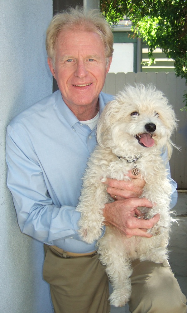 ed begley jr. and his dog  bernie 3 copy
